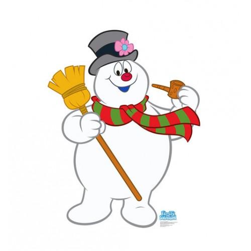 Frosty The Snowman Cardboard Cutout