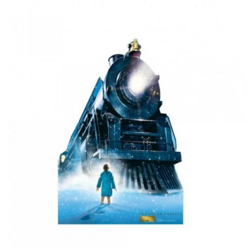 The Polar Express Train (The Polar Express) Cardboard Cutout - $39.95