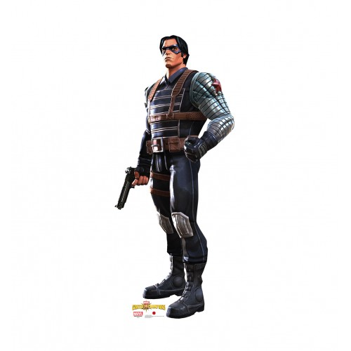 Winter Soldier (Marvel Contest of Champions Game) Cardboard Cutout
