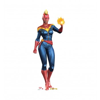 Captain Marvel (Marvel Contest of Champions Game) Cardboard Cutout