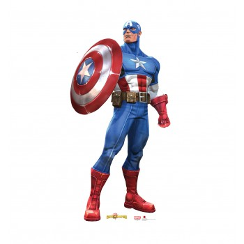 Captain America (Marvel Contest of Champions Game) Cardboard Cutout