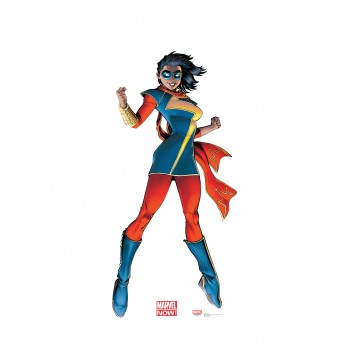 Ms. Marvel (Marvel Now) Cardboard Cutout