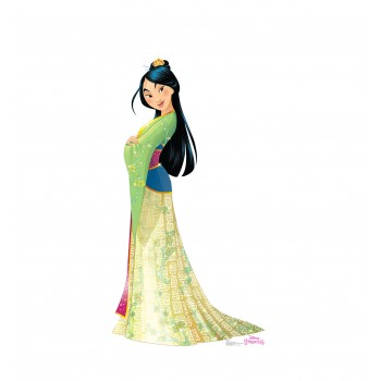 Mulan (Disney Princess Friendship Adventures) Cardboard Cutout - $39.95