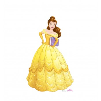 Belle (Disney Princess Friendship Adventures) Cardboard Cutout - $39.95