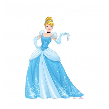 Cinderella (Disney Princess Friendship Adventures) Cardboard Cutout