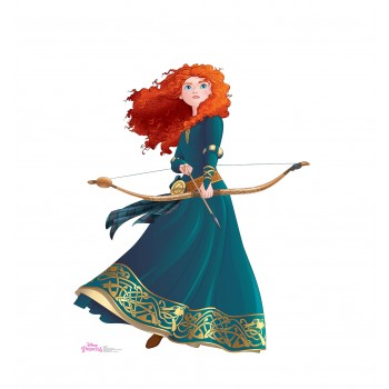 Merida (Disney Princess Friendship Adventures) Cardboard Cutout - $39.95
