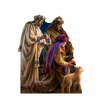 Three Wise Men (Dona Gelsinger Art) Cardboard Cutout - $39.95