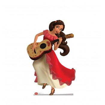 Elena of Avalor with Guitar Disney Cardboard Cutout