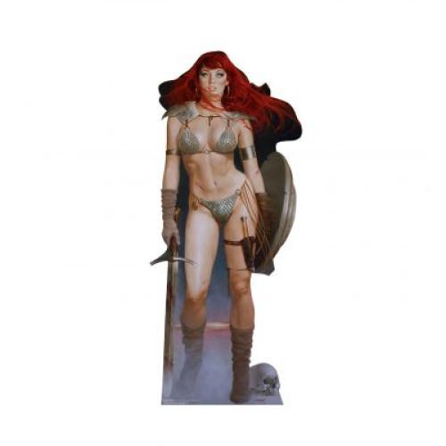 Red Sonja Red Dawn Cardboard Cutout
