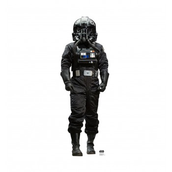 Atmospheric TIE Pilot™ (Rogue One) Cardboard Cutout