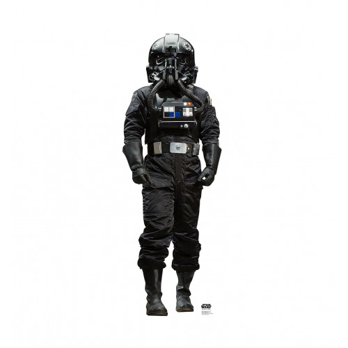 Atmospheric TIE Pilot (Rogue One) Cardboard Cutout