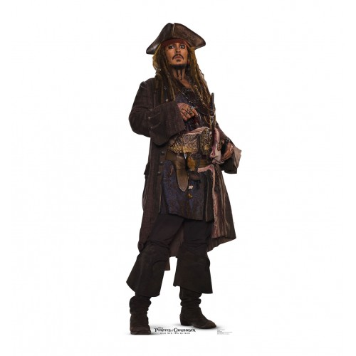 Jack Sparrow (Pirates of the Caribbean 5) Cardboard Cutout