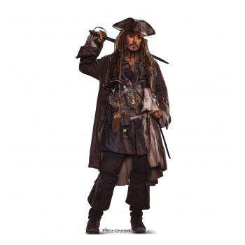 Jack Sparrow 02 (Pirates of the Caribbean 5) Cardboard Cutout - $39.95