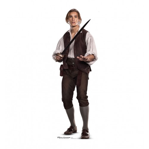 Henry (Pirates of the Caribbean 5) Cardboard Cutout
