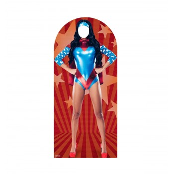 Woman Super Hero Standin Cardboard Cutout - $39.95