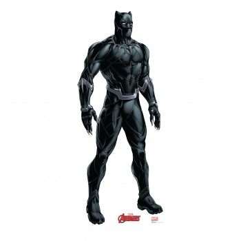 Black Panther (Avengers Animated) Cardboard Cutout - $39.95