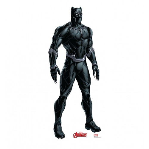 Black Panther (Avengers Animated) Cardboard Cutout