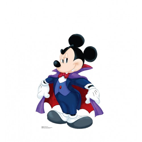 Halloween Mickey Dracula (Disney) Cardboard Cutout
