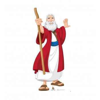 Moses (Creative for Kids Illustrated) Cardboard Cutout - $39.95