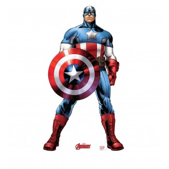 Captain America (Avengers Animated) Cardboard Cutout - $39.95