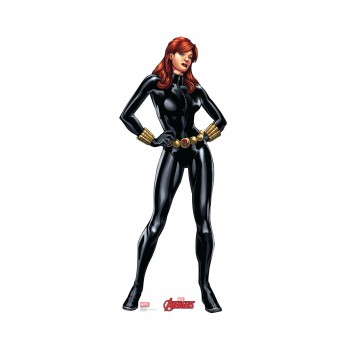 Black Widow (Avengers Animated) Cardboard Cutout - $39.95