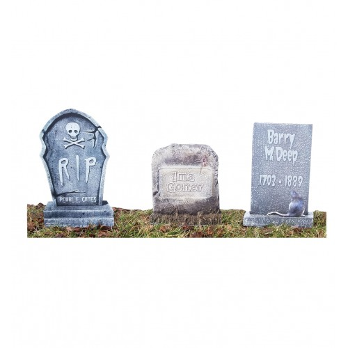 Tombstone 3 Pack Cardboard Cutout