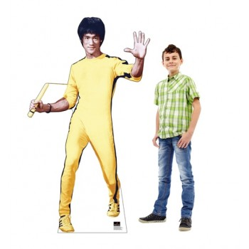 Bruce Lee Yellow Jumpsuit Cardboard Cutout - $39.95