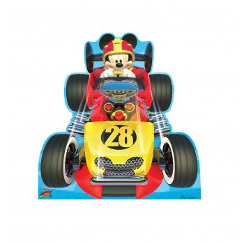 Mickey Roadster (Disneys Roadster Racers) Cardboard Cutout - $39.95