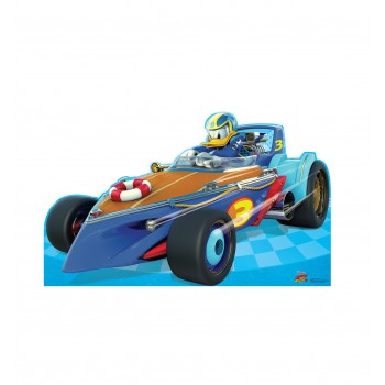 Donald Duck Roadster (Disneys Roadster Racers) Cardboard Cutout - $39.95