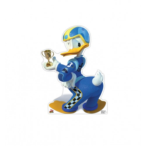 Donald Duck Trophy (Disneys Roadster Racers) Cardboard Cutout