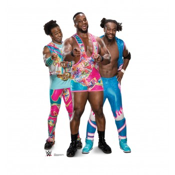 The New Day - Big E Kofi and Xavier (WWE) Cardboard Cutout - $39.95