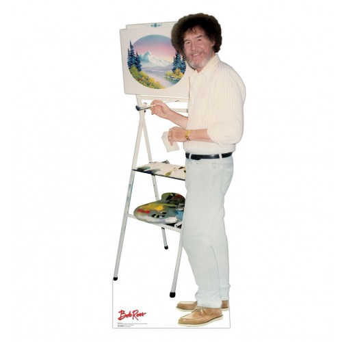 Bob Ross Talking Cardboard Cutout