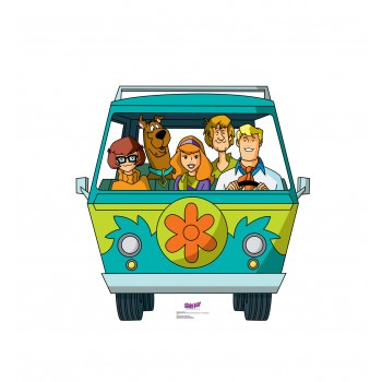 Mystery Machine (Scooby-Doo Mystery Incorporated) Cardboard Cutout - $39.95