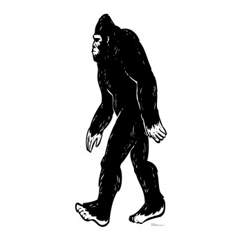 Bigfoot Cardboard Cutout