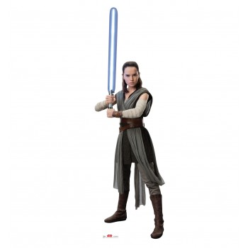 Rey (Star Wars VIII The Last Jedi) Cardboard Cutout - $39.95
