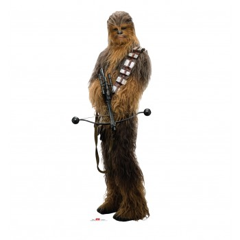Chewbacca Holding Bow (Star Wars VIII The Last Jedi) Cardboard Cutout