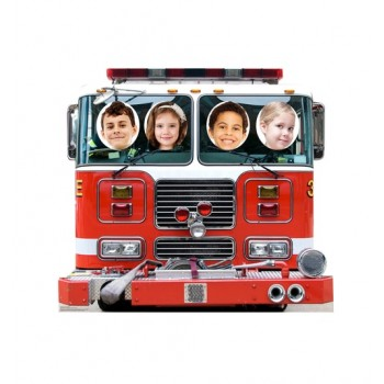 Fire Truck Standin Cardboard Cutout - $39.95