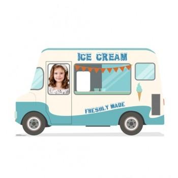 Ice Cream Truck Standin Cardboard Cutout - $39.95
