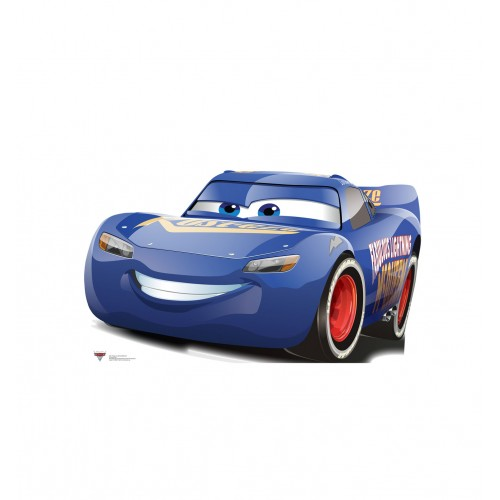Fabulous Lightning McQueen (Disneys Cars 3) Cardboard Cutout
