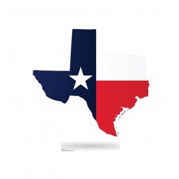 Texas State Cardboard Cutout - $39.95