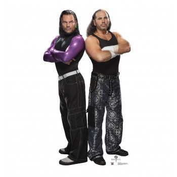 The Hardy Boyz WWE Cardboard Cutout - $39.95