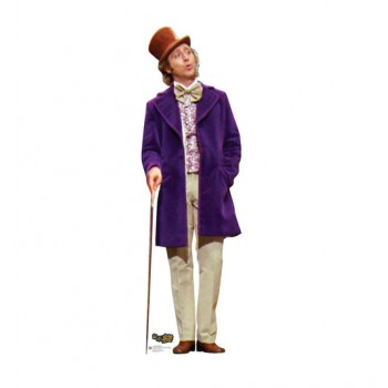 Willy Wonka Willy Wonka And the Chocolate Factory Cardboard Cutout