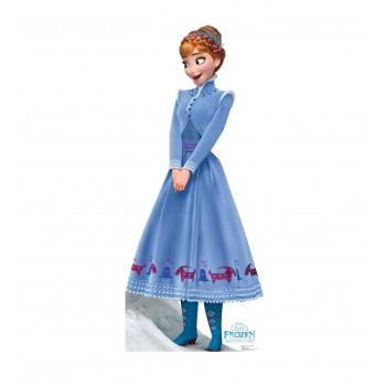 Anna Disneys Olafs Frozen Adventure Cardboard Cutout - $39.95