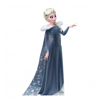 Elsa Disneys Olafs Frozen Adventure Cardboard Cutout - $39.95