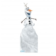 Olaf on Snow Mound Disneys Olafs Frozen Adventure