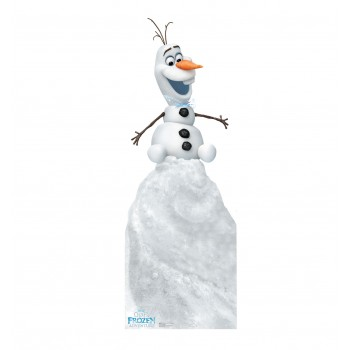 Olaf on Snow Mound Disneys Olafs Frozen Adventure Cardboard Cutout - $39.95