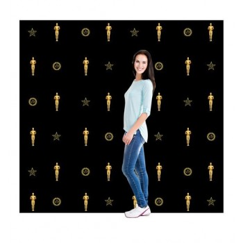 Red Carpet Step and Repeat Backdrop DW Cardboard Cutout - $69.99
