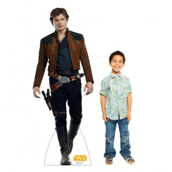 Han Solo (Star Wars Han Solo Movie) Cardboard Cutout