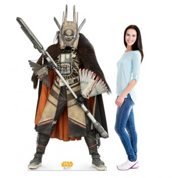 Enfys Nest (Star Wars Han Solo Movie) Cardboard Cutout - $39.95