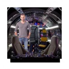 Cockpit of Millenium Falcon Backdrop™ (Star Wars Han Solo Movie)
